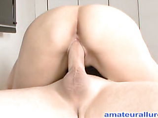 Edie is a very hawt 18 year old lalin beauty from california attending a local college. This non-professional beauty is an astounding schlong sucker that can take a dong all the way down her face hole. Ray bonks her taut bald vagina during the time that
