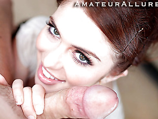 Miley is 18 years old, very cute and this playgirl has returned for her 1st cum facial ever! This is the second time Miley has visted AmateurAllure.com, and I am going receive my discharged at her this time. That Honey has an amazing, tight body and nice-looking face, and that playgirl indeed can't live without engulfing dick. After that playgirl blows me for a during the time that, I bent her over and screwed her tight little fur pie. This Honey is a fun little spinner. After lots of fucking I discharged a massive load all over her face.