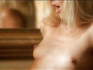 Playgirl is demonstrating delights and touching fresh moist gap