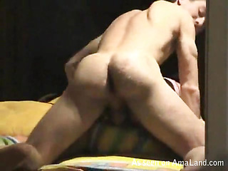 Male fondles his girlfriend before banging her very well