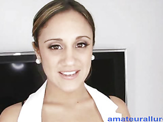 `Lynn is a 20 one year old nursing student from sunny Florida. This is her First `on camera` sex scene and this doll does a great job. Oral-stimulation Sex that is... That Sweetheart drops down and starts engulfing my strapon and then presents her cunt for a valuable hard fu`