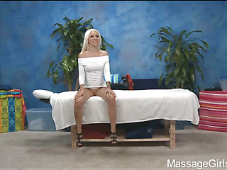 Sexy Eighteen year old gal gets fucked hard by her massage therapist!