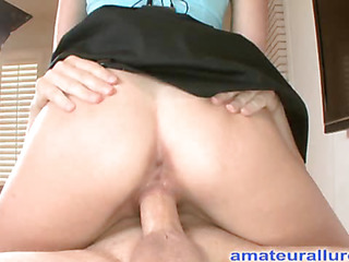 Zoe is an absolute beauty. That Hottie is a tall black brown with short hair that was a professional mainstream model. That Hottie has always liked swallowing cum and did so on her very First orall-service stimulation. Ray slips his ding-dong into her wet throat and procedes to face fuck her. Then that man bows her over and fucks her taut bald fur pie doggystyle before shooting his load on her taut tummy and scooping it up with a spoon and feeding his 10-Pounder juice to her.