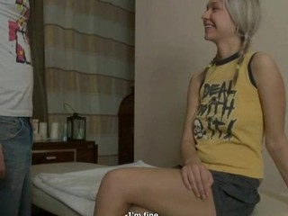 Angel receives her pointer sisters mashed and pussy screwed by lascivious chap