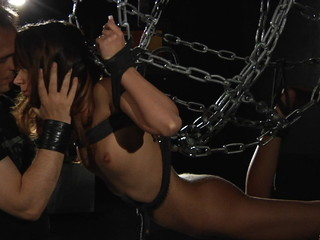 Inna claims that that sweetheart doesn't like to be drilled in submission but this is just this sweetheart desires us to make no doubt of. However, her attitude in perverted games proves that she's enjoying the whipping while engulfing dong
