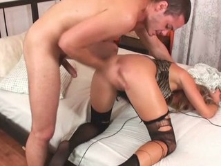 The hottie could get rock hard orgasms only from anal fucking