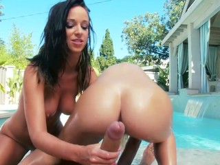 2 of the greatest butts of the industry, jointly in one scene. They know how to shake it, how to engulf it and how to fuck it! Those 2 girls are incredibly hawt, and when they are jointly they make the ideal match!