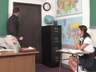 Teacher thinks it's time for his student to try a mature knob