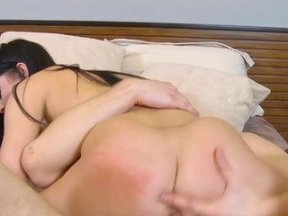 Inexperienced schoolgirl serves a pulsating dong of a older chap