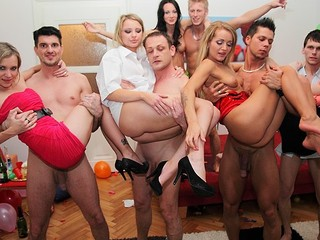 Even priceless and decent girls turn into sexy college doxies at student sex parties! See what they're capable of!