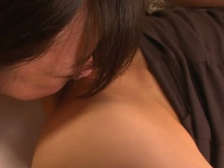 School beauty Aoba Itou gets into a wicked trio with her boss and his wife and enjoys in pleasant 'em one as well as the other- her with a worthwhile cum-hole licking and fingering session and him with a wicked penis sucking on her knees in this trio session in the bedroom